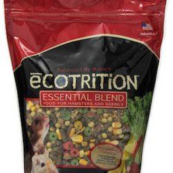 Comida para hamsters 8 en 1 ecotrition esencial mezcla para hámsters y gerbos