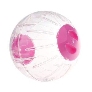 D DOLITY Bola de Deportes Animal Doméstico Accesorios Bola de Ejercicio Hámster Duradero - L