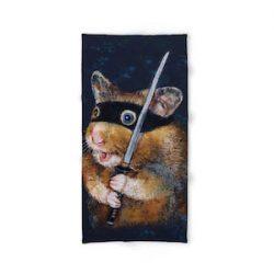 """Donola Ninja Hamster - Toalla de baño (31,5"""" x 51,2"""")"""