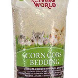 Living World Lecho Sanitario de Mazorca Corn Cobs Natural - 10 L