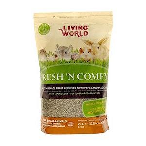 Living World Lecho Sanitario de papel Fresh & Comfy - 20 L