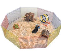 Nobby Parque de juego 8 lados para hámster, 91 cm de diámetro, Multicolor