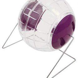 Pennine - Bola de juguete con soporte para hámsters