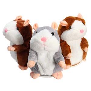 Takefuns Mimicry - Hámster para hablar con mascotas que repite lo que dices interactivo animales, peluche, juguete electrónico, hámster para niño y niña,