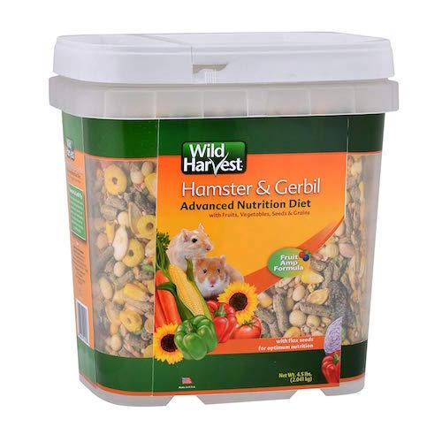 Wild Harvest wh-83543 avanzado Nutrición Dieta para hámsters o gerbos, 4.5-Pound