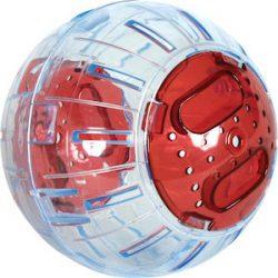 ZOLUX – Bola de Ejercicios para Animales Pequeños – 12,5 cm – Color Cereza